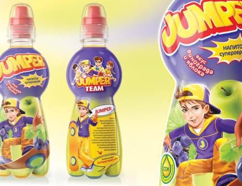 Редизайн упаковки напитка Jumper